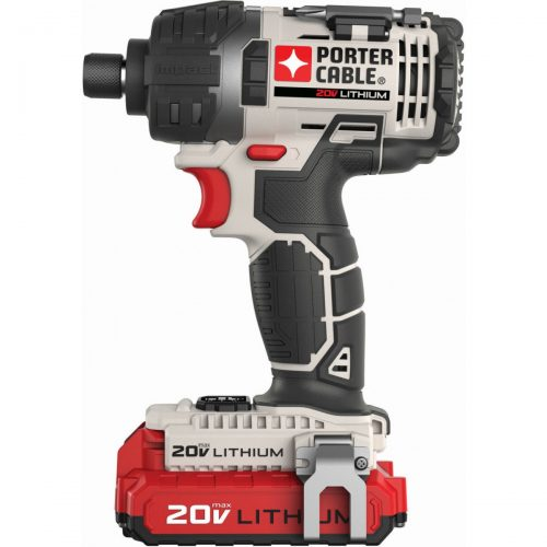 "PORTER-CABLE PCCK640LB 20V MAX* 1/4"" Hex Lithium Ion Impact Driver Kit"