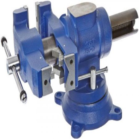 Yost Vises 750-DI 5 Heavy-Duty Multi-Jaw Bench Vise