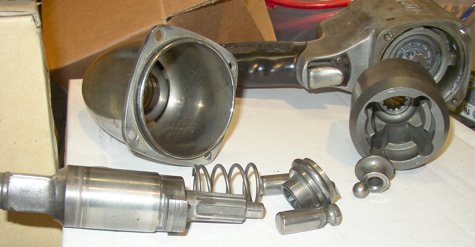 impact wrench clutch parts