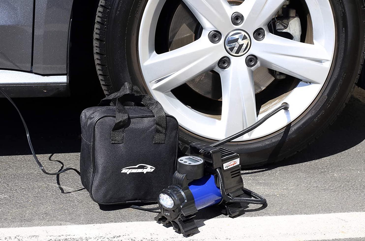 portable air compressor or digital tire inflator